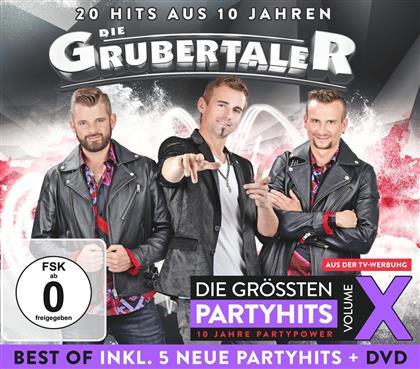 Die Grubertaler - Das Beste aus 10 Jahren Party - Vol. X (Deluxe Edition)