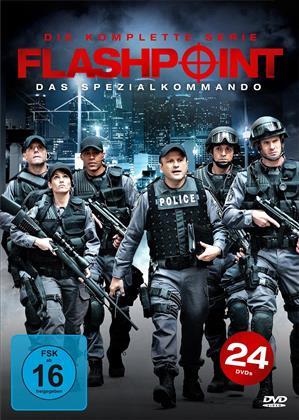 Flashpoint - Das Spezialkommando - Die komplette Serie (24 DVDs)