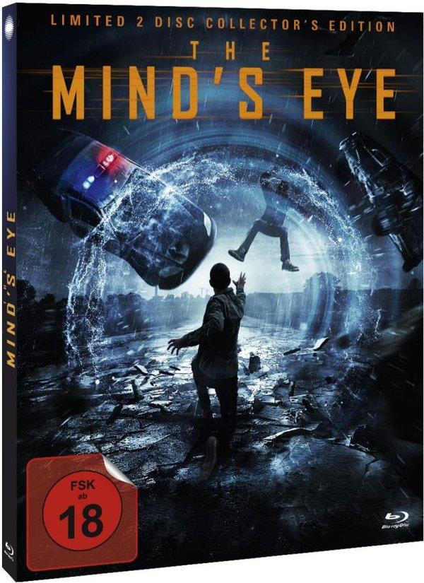 The Mind's Eye (2015) (Cover C, Collector's Edition, Limited Edition, Mediabook, Blu-ray + DVD)