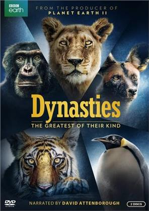 Dynasties (2018) (BBC Earth, 2 DVDs)
