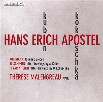 Hans Erich Apostel & Thérèse Malengreau - Kubiniana/60 Schemen/10 Variations (SACD)