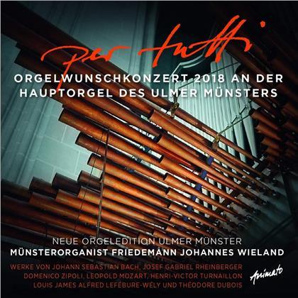 Friedemann Johannes Wieland - Per Tutti - Orgelwunschkonzert 2018 an der Hauptorgel des Ulmer Münsters