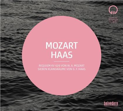 Wolfgang Amadeus Mozart (1756-1791), Georg Friedrich Haas (*1953), Ivor Bolton, Mozarteum Orchester Salzburg & Salzburger Bachchor - Requiem / Sieben Klangräume