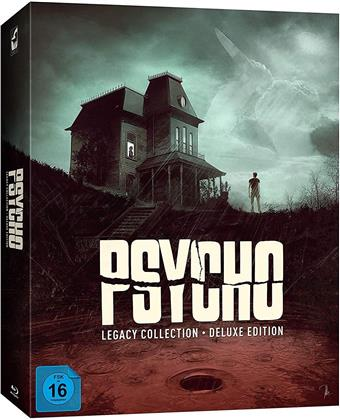 Psycho Legacy Collection (2010) (Deluxe Edition, Limited Edition, 8 Blu-rays)