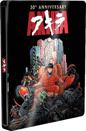 Akira (1988) (30 Years Anniversary Edition, Steelbook, Blu-ray + DVD)