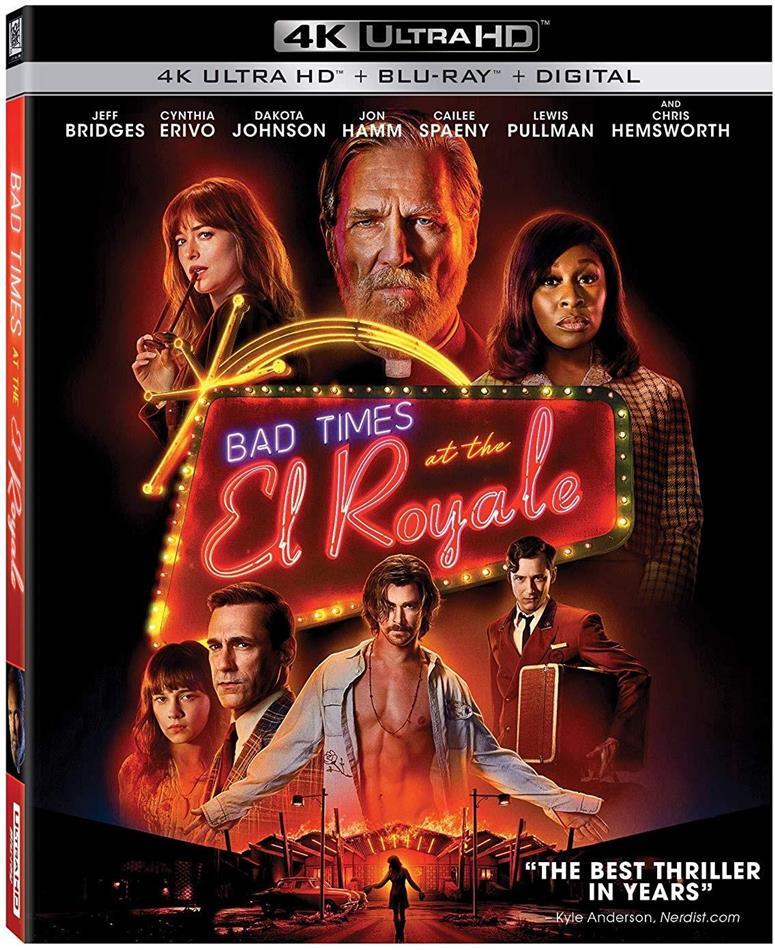 Bad Times At El Royale (2018) (4K Ultra HD + Blu-ray)