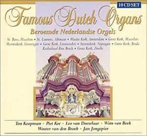 Famous Dutch Organs (10 CDs)