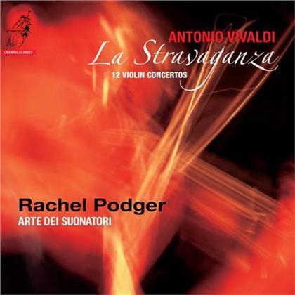 Antonio Vivaldi (1678-1741), Rachel Podger & Arte dei Suonatori - La Stravaganza - 12 Violin Concertos (LP)