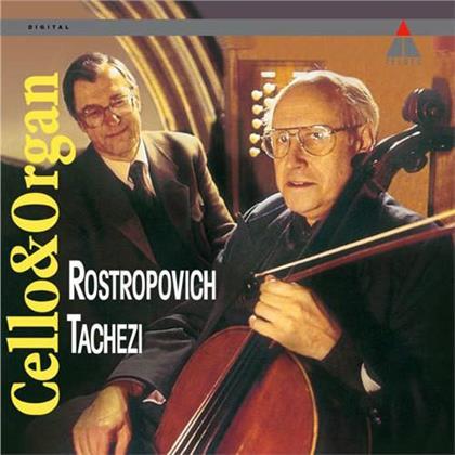 Mstislav Rostropovitsch & Herbert Tachezi - Cello & Organ (LP)