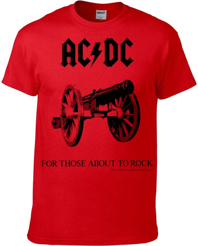 AC/DC - For Those About To Rock (Kids 11-12) - Grösse XL