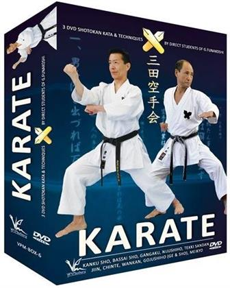 Shotokan Karate Keio - Vol. 3 - Kata et techniques (3 DVDs)