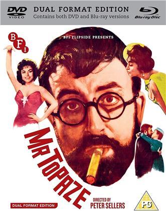 Mr Topaze (1961) (DualDisc, s/w, Blu-ray + DVD)
