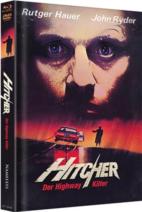 Hitcher - The Highway Killer (1986) (Cover A, Limited Edition, Mediabook, Blu-ray + DVD)