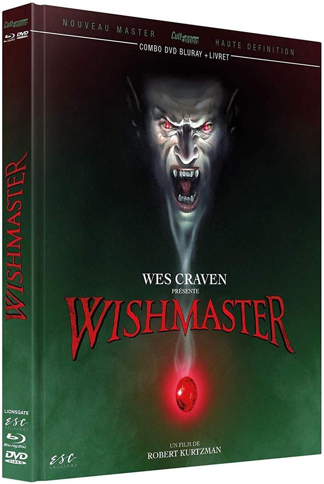 Wishmaster (1997) (Cult Edition, Mediabook, Remastered, Blu-ray + DVD)