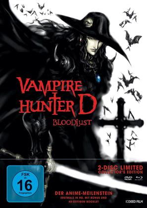 Vampire Hunter D - Bloodlust (2000) (Collector's Edition, Limited Edition, 2 Blu-rays)