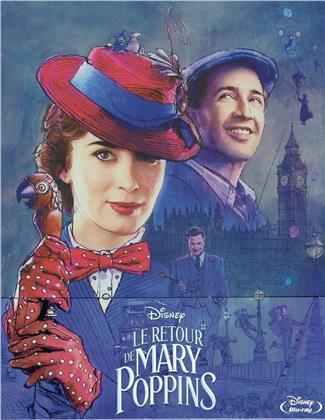 Le retour de Mary Poppins (2018) (Edizione Limitata, Steelbook)