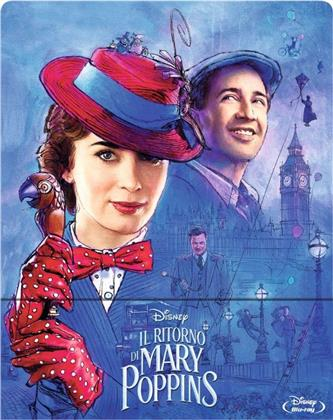 Il ritorno di Mary Poppins (2018) (Limited Edition, Steelbook)