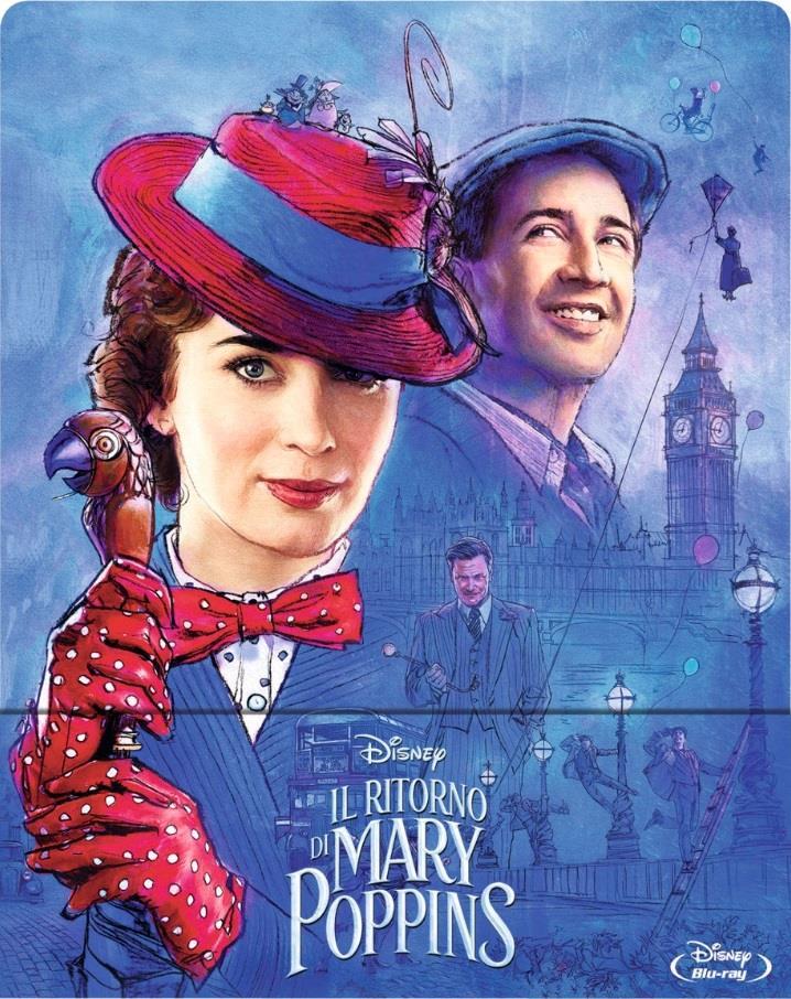 Il ritorno di Mary Poppins (2018) (Limited Edition, Steelbook)