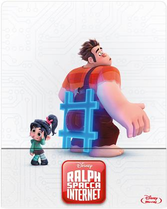 Ralph Spacca Internet - Ralph Spaccatutto 2 (2018) (Edizione Limitata, Steelbook)