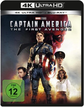 Captain America - The First Avenger (2011) (4K Ultra HD + Blu-ray)