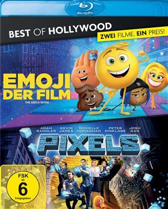 Emoji - Der Film / Pixels (Best of Hollywood, 2 Blu-rays)