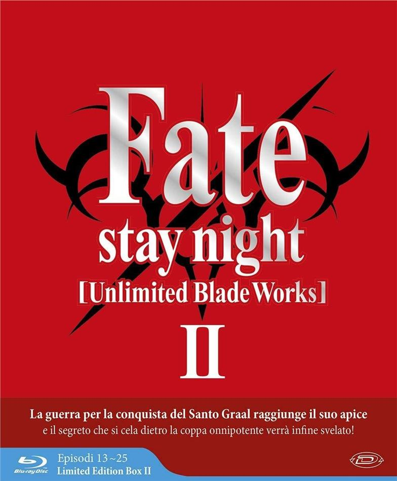 Fate/Stay Night: Unlimited Blade Works - Stagione 2 (Limited Edition Box, Digipack, 3 Blu-ray)