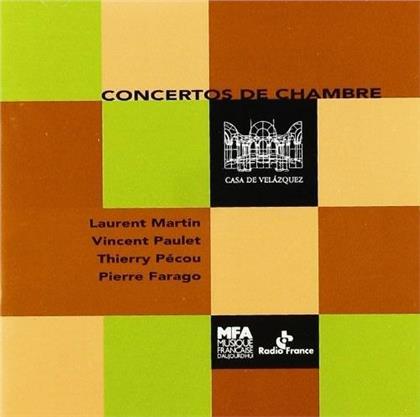 Casa De Velazquez: Concertos De Chambre