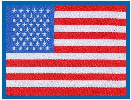 Generic Standard Patch - Stars & Stripes Flag (Loose)