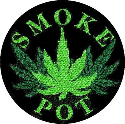 Generic Standard Patch - Smoke Pot (Loose)