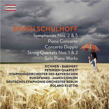 James Conlon, Roland Kluttig, Frank-Immo Zichner, Jacques Zoon, Erwin Schulhoff (1894-1942), … - Erwin Schulhoff (6 CDs)