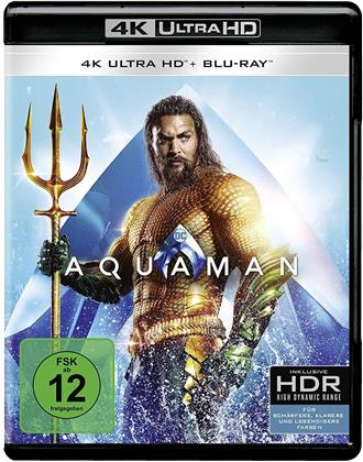Aquaman (2018) (4K Ultra HD + Blu-ray)