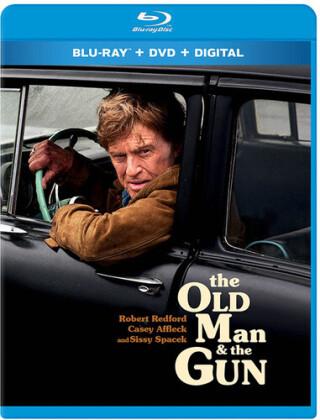 The Old Man & The Gun (2017) (Blu-ray + DVD)