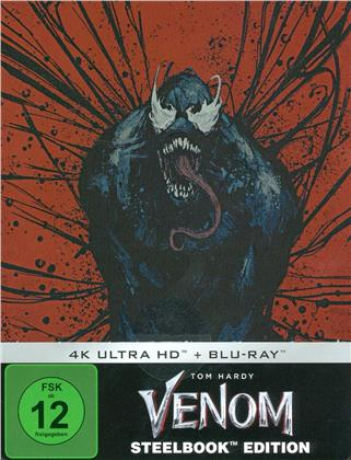 Venom (2018) (Limited Edition, Steelbook, 4K Ultra HD + Blu-ray)