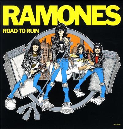 Ramones - Road To Ruin (2019 Reissue, Limited Edition, Blue Vinyl, LP)