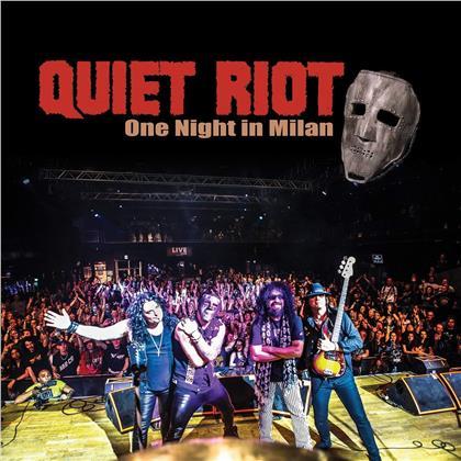 Quiet Riot - One Night In Milan (2 CDs + DVD)