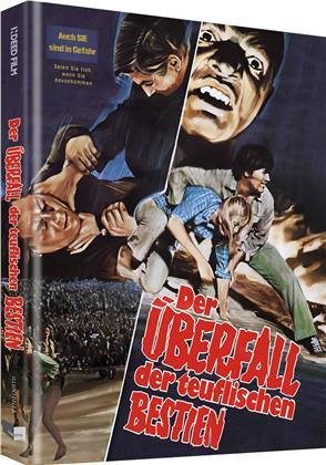 Der Überfall der teuflischen Bestien (1977) (Cover A, Limited Edition, Mediabook, Blu-ray + DVD)