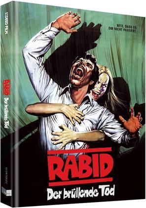Rabid - Der brüllende Tod (1977) (Cover C, Limited Edition, Mediabook, Blu-ray + DVD)