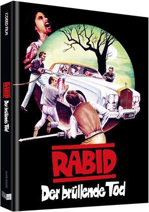 Rabid - Der brüllende Tod (1977) (Cover D, Limited Edition, Mediabook, Blu-ray + DVD)