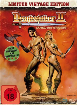 Deathstalker 2 - Duell der Titanen (Limited Vintage Edition, Kinoversion, Mediabook, Uncut, Blu-ray + DVD)