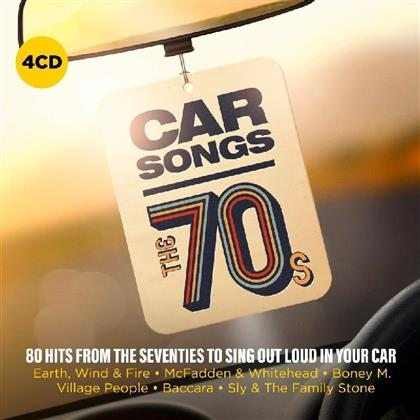 Car Songs - The 70'S (4 CDs)