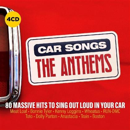 Car Songs - The Anthems (4 CDs)