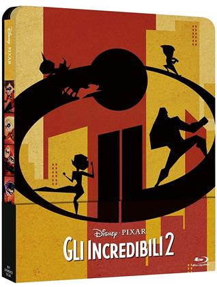 Gli Incredibili 2 (2018) (Steelbook, Blu-ray 3D (+2D) + Blu-ray)