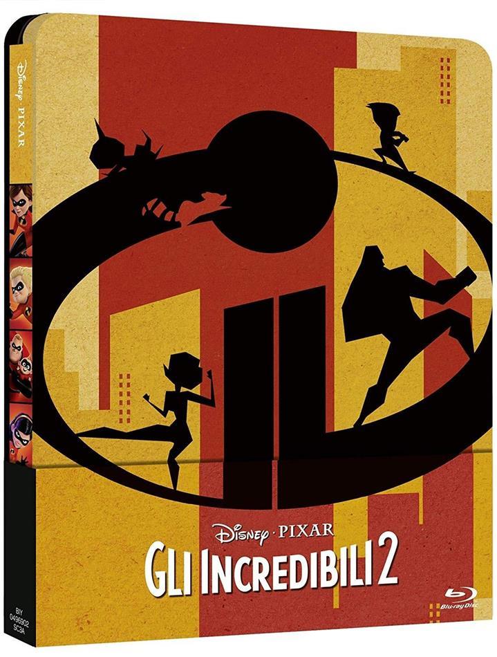 Gli Incredibili 2 (2018) (Steelbook, Blu-ray 3D (+2D) + Blu-ray)