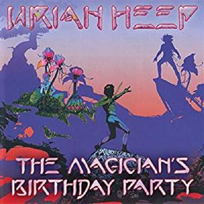 Uriah Heep - Magician's Birthday Party - Reissue, Limited, Mini LP