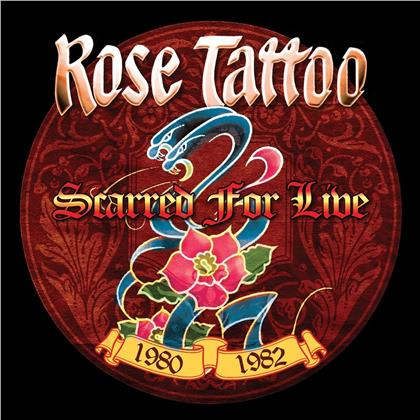 Rose Tattoo - Scarred For Live - 1980-1982 (White Vinyl, LP)