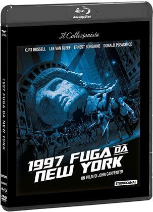 1997 Fuga da New York (Il Collezionista, Blu-ray + DVD)