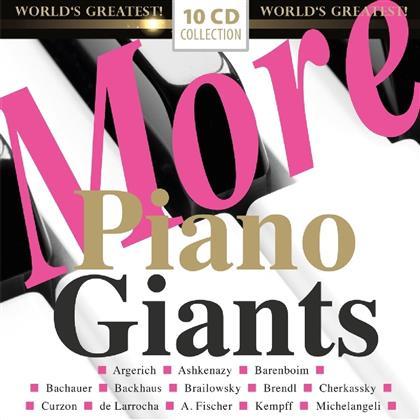 More Piano Giants (10 CDs)