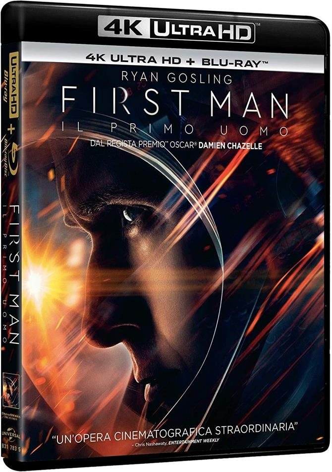 First Man - Il primo uomo (2018) (4K Ultra HD + Blu-ray)