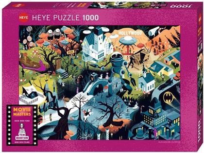 Tim Burton Films Standard - 1000 Pieces