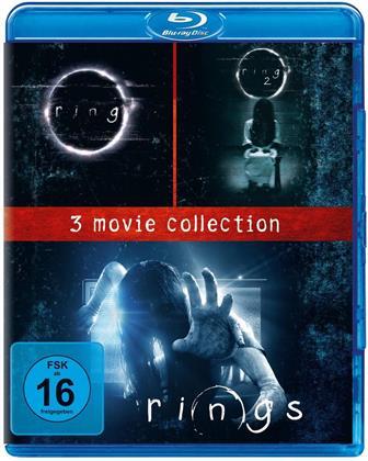 Ring / Ring 2 / Rings (3 Blu-rays)